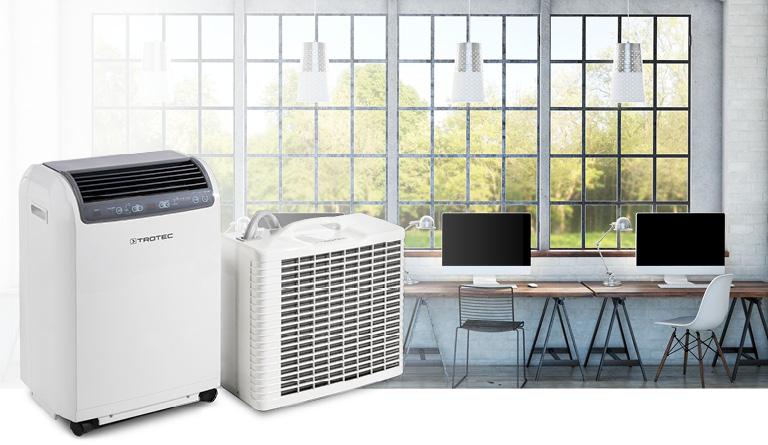 trotec split klimager t pac 4600 split klimaanlage mit 4 3 kw btu ebay. Black Bedroom Furniture Sets. Home Design Ideas