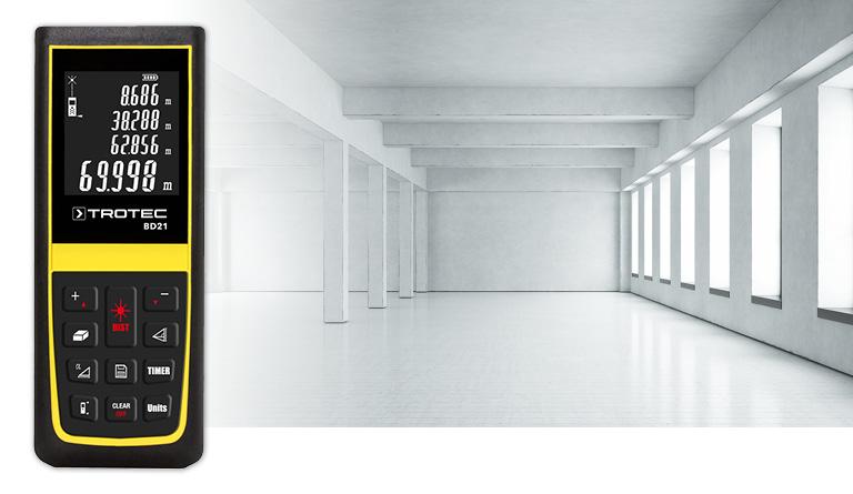 Entfernungsmesser Mit Neigungssensor : Trotec laser entfernungsmesser bd entfernungsmessgerät