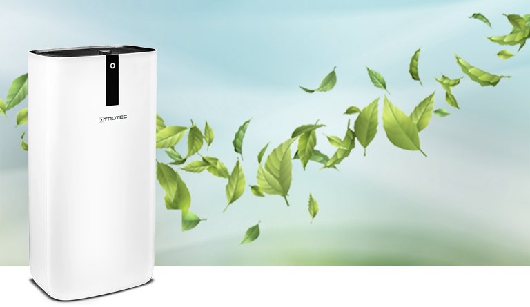 TROTEC Purificador de aire Design AirgoClean 15 E Depurador de aire Ionizador | eBay